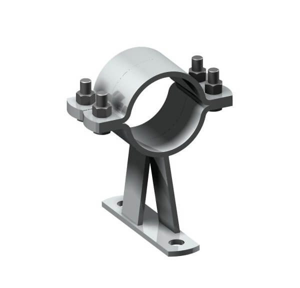 Fixed point pipe clamp Type 116 L