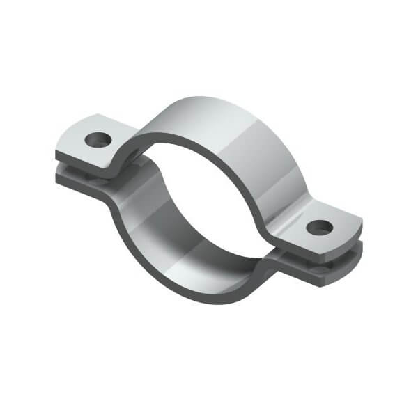 Industrial pipe clamp Type 3567 A (similar to DIN 3567 A)