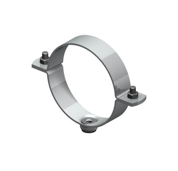 Screw-on pipe clamp Type 114 Ni